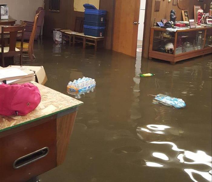 Flooded Basement in Thumb Fire Department
